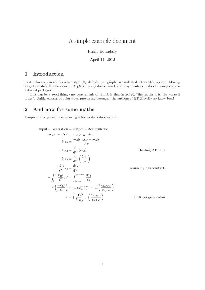 Document typeset in LaTeX