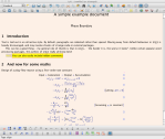 The LyX user interface, editing the same document